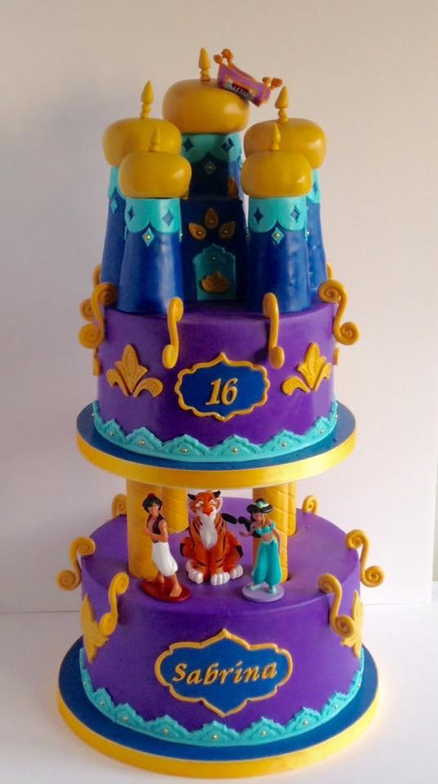 Princess Jasmine Cake Cakecentral Com