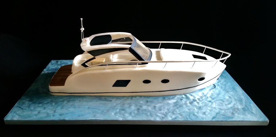 Speed Boat Cake Recipe