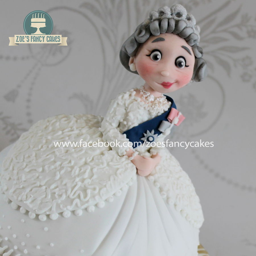 Queen Elizabeth Doll Cake on Cake Central