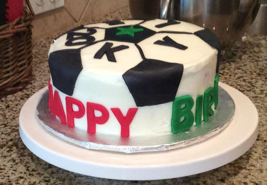 how to make a soccer ball cake youtube