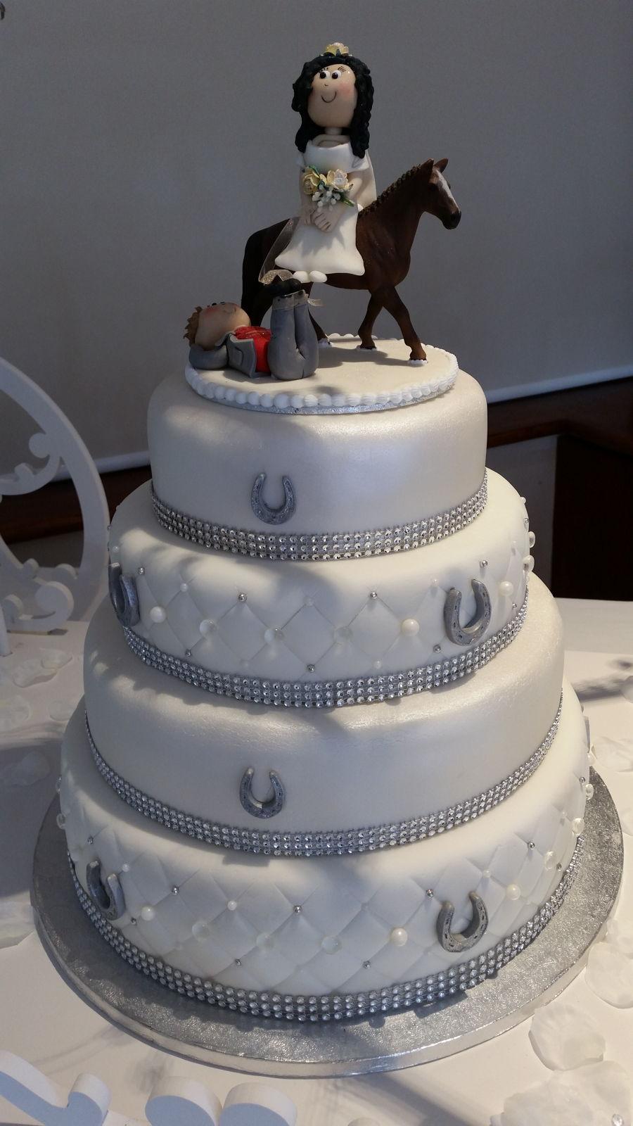 Rainbow Wedding Cake Cakecentral Com