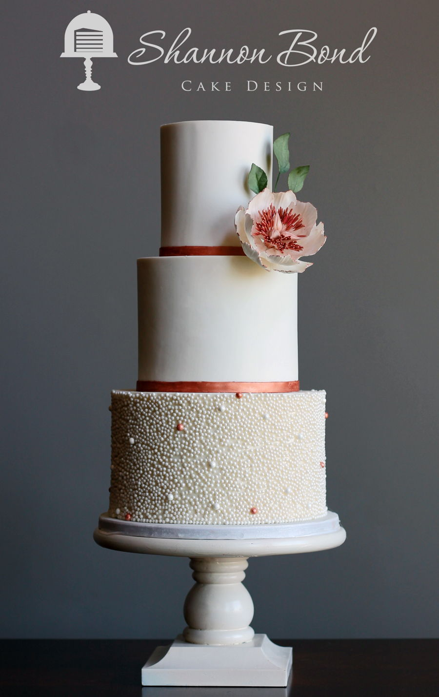 rose gold and black wedding cake gold wedding cake cakecentral 19261