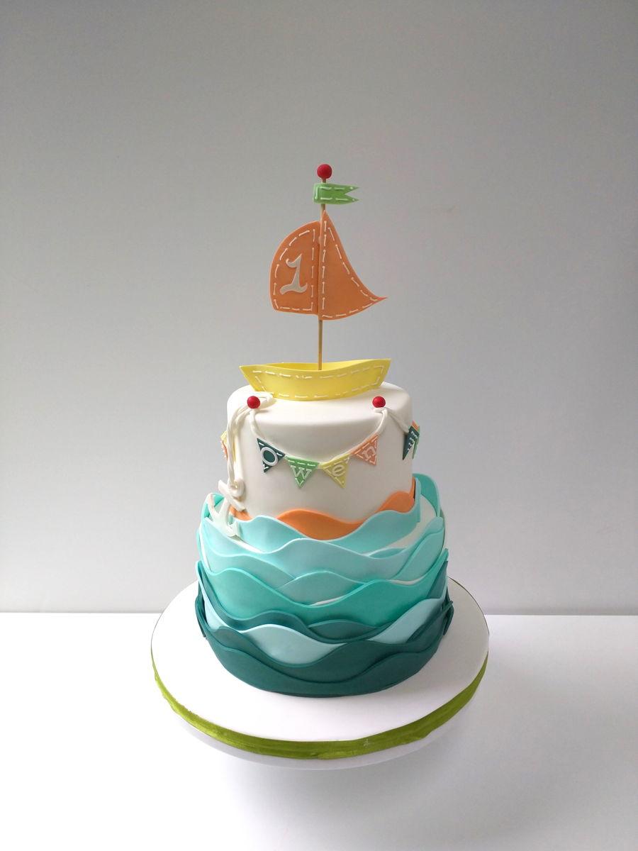 Sailboat Cake » Celebration Cakes