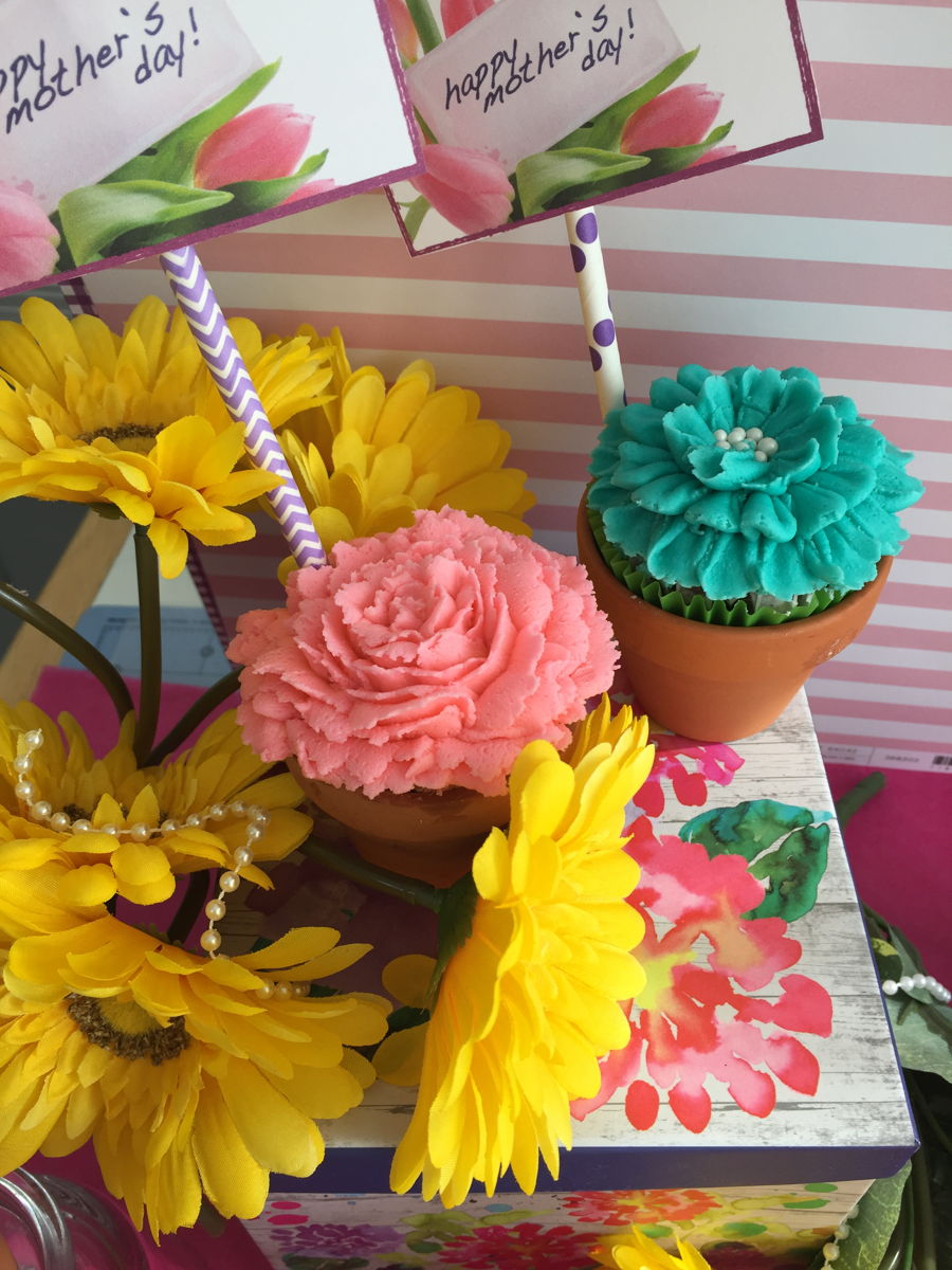 Small Flower Pot Cupcake Cakecentral