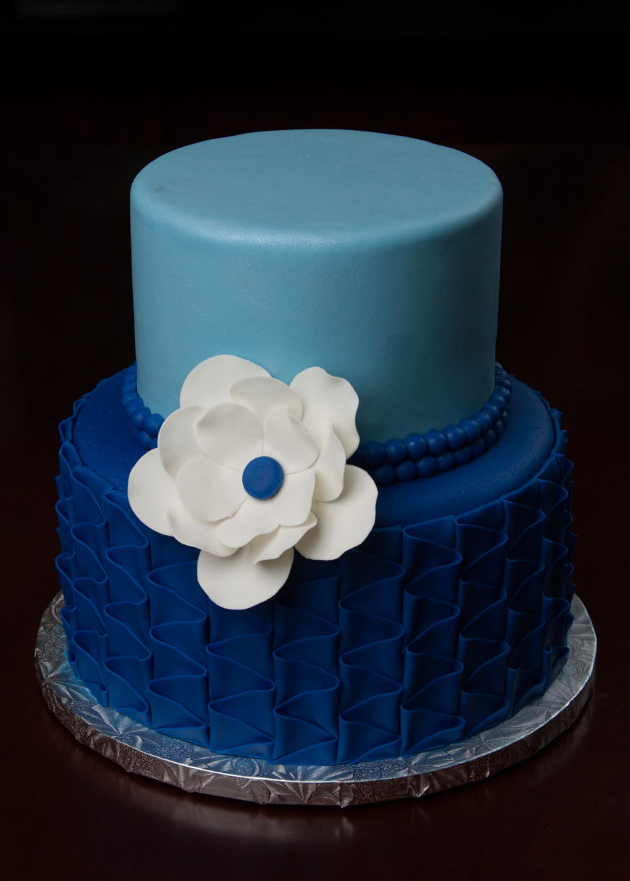 Small Wedding Cake Cakecentral Com