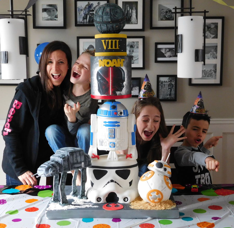 Star Wars Cake Family on Cake Central