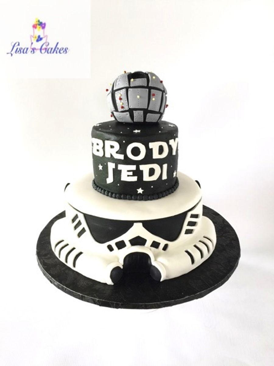 Star Wars Stormtrooper Cake Cakecentral Com