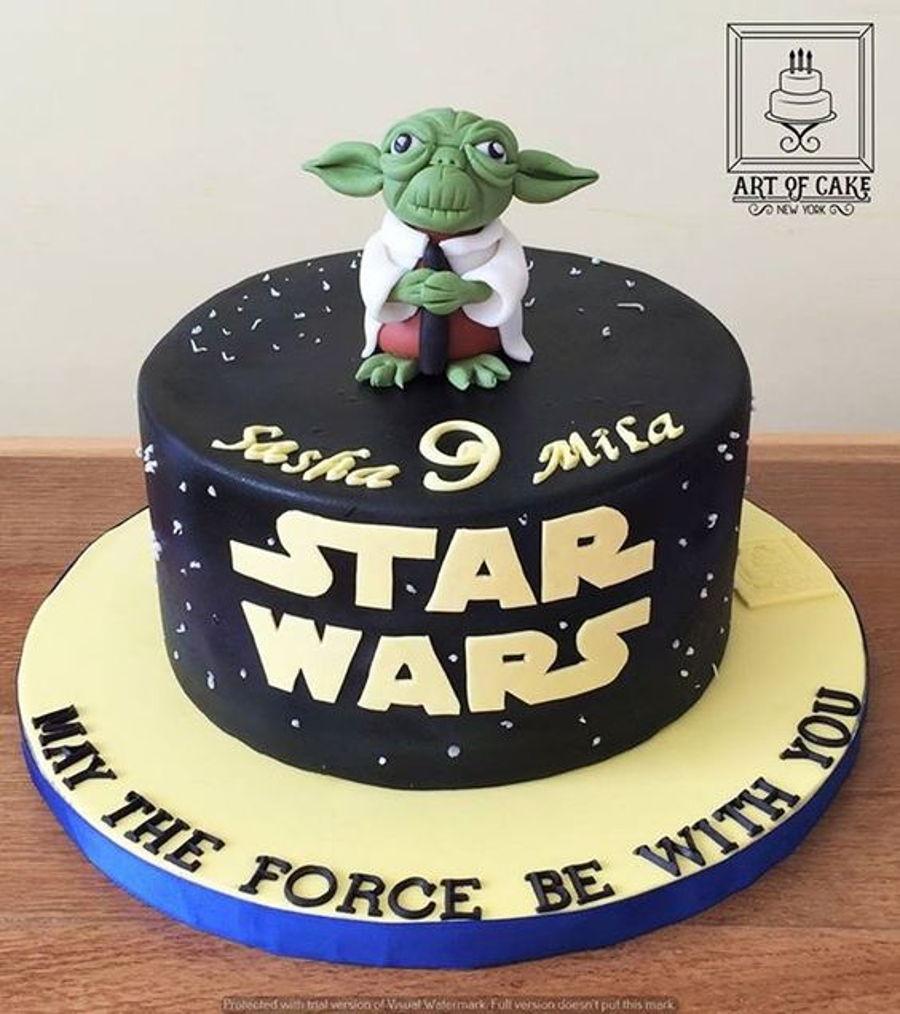 Starwars Yoda Cake Cakecentral Com