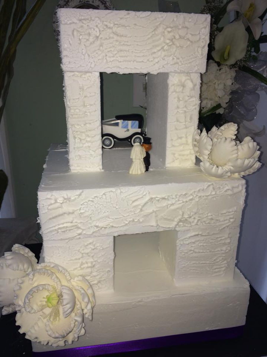 Stone Henge Version on Cake Central