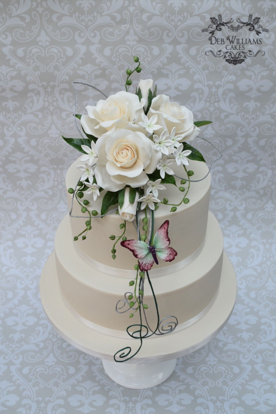 sugar flowers for wedding cakes sugar flowers wedding cake cakecentral 20571