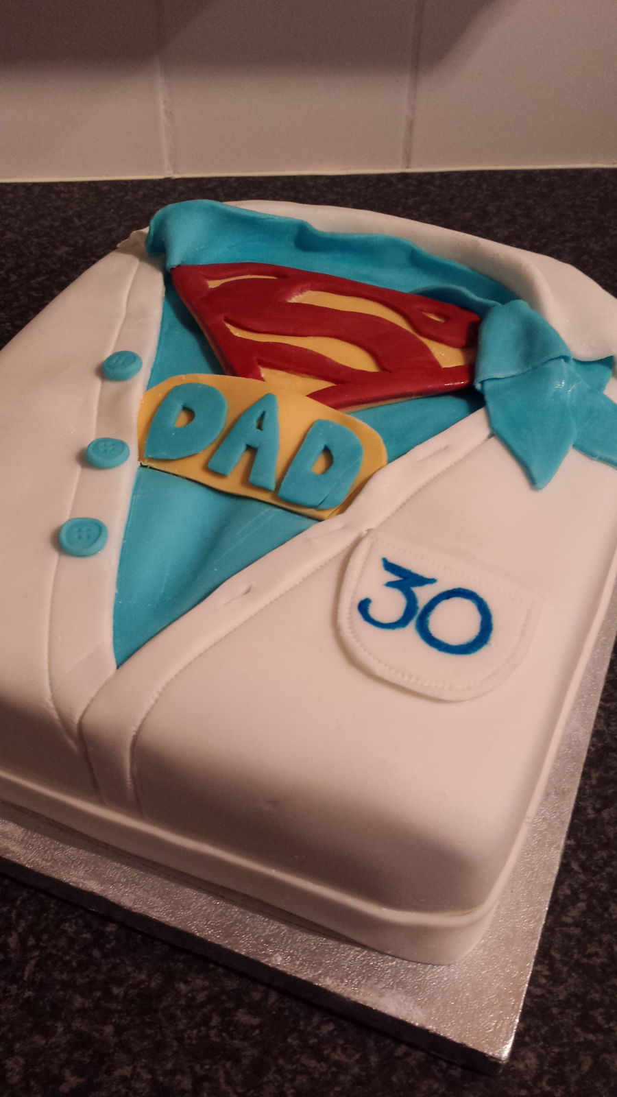 Super Dad Cake On Central