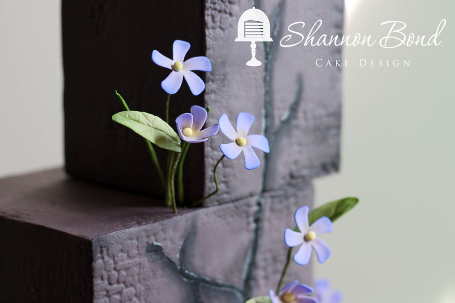 Sweet Periwinkle Cake Cakecentral Com