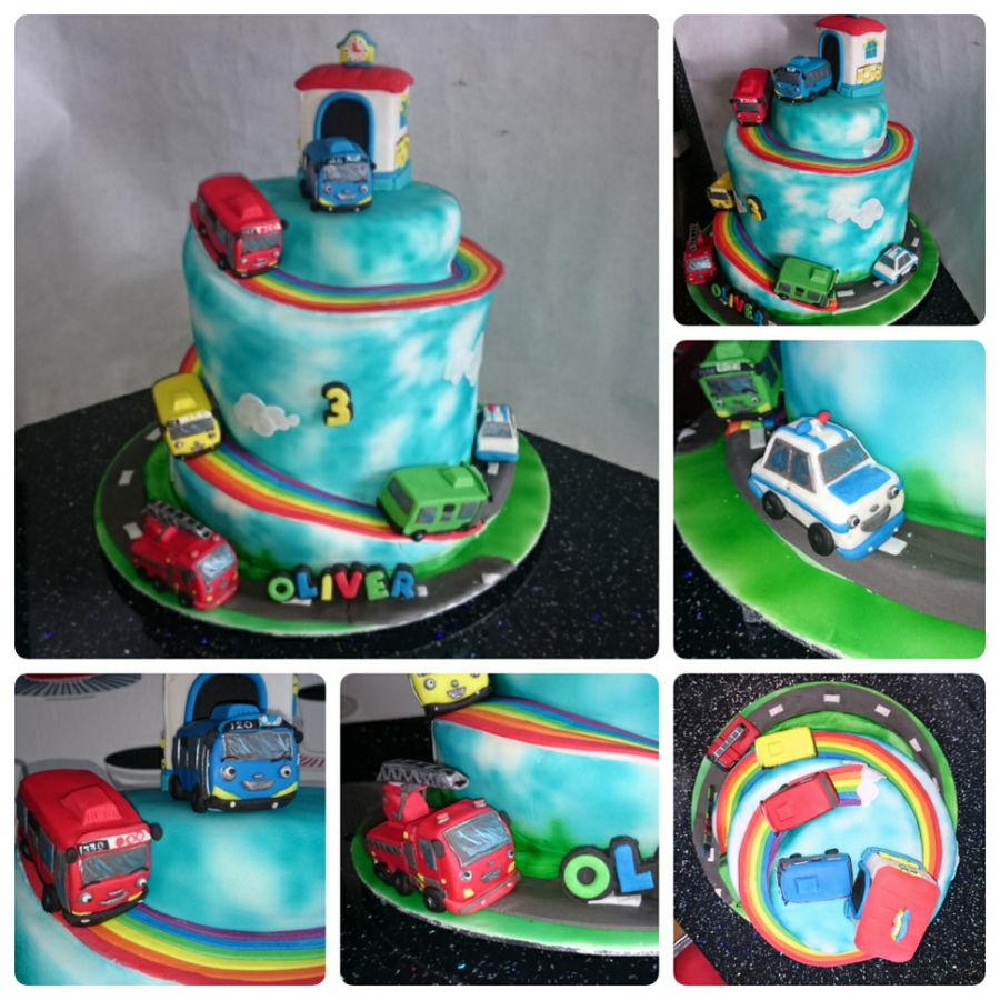 Tayo Spiral Cake Cakecentral Com