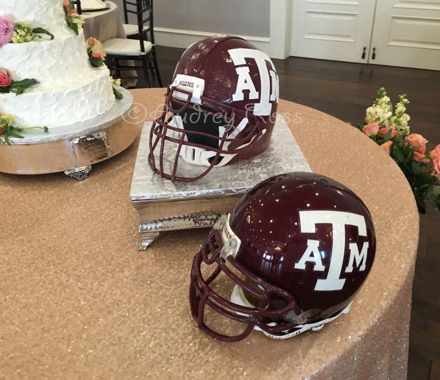 Texas A Amp M Football Helmet Groom S Cake Cakecentral Com