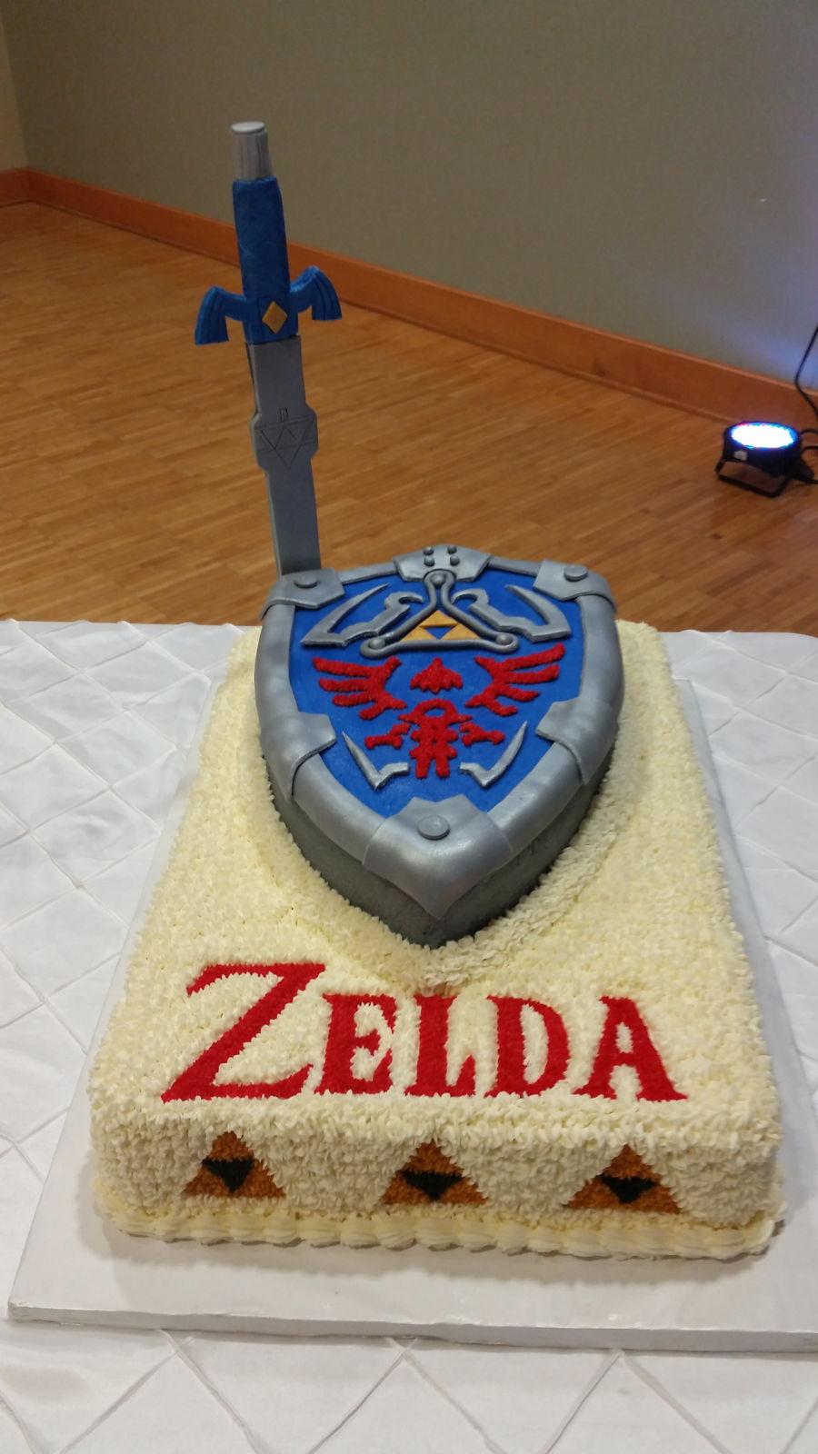 Zelda Cake Decor : The Legend Of Zelda - CakeCentral.com