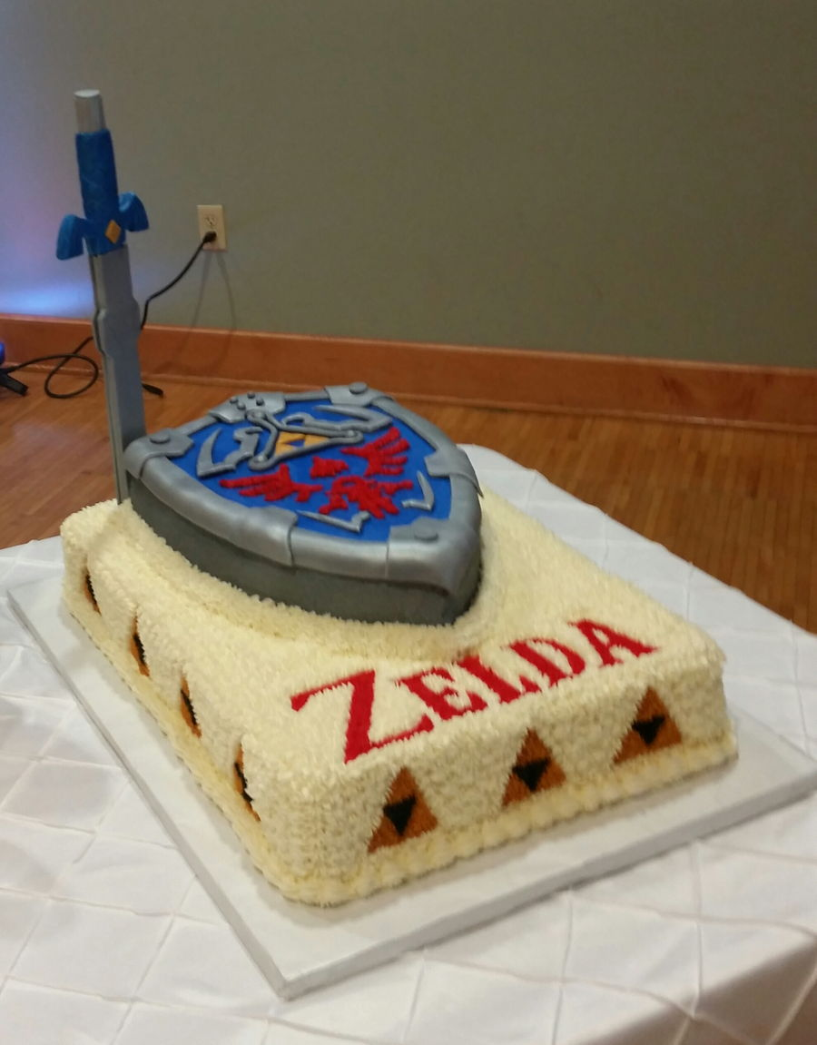 The Legend Of Zelda - CakeCentral.com