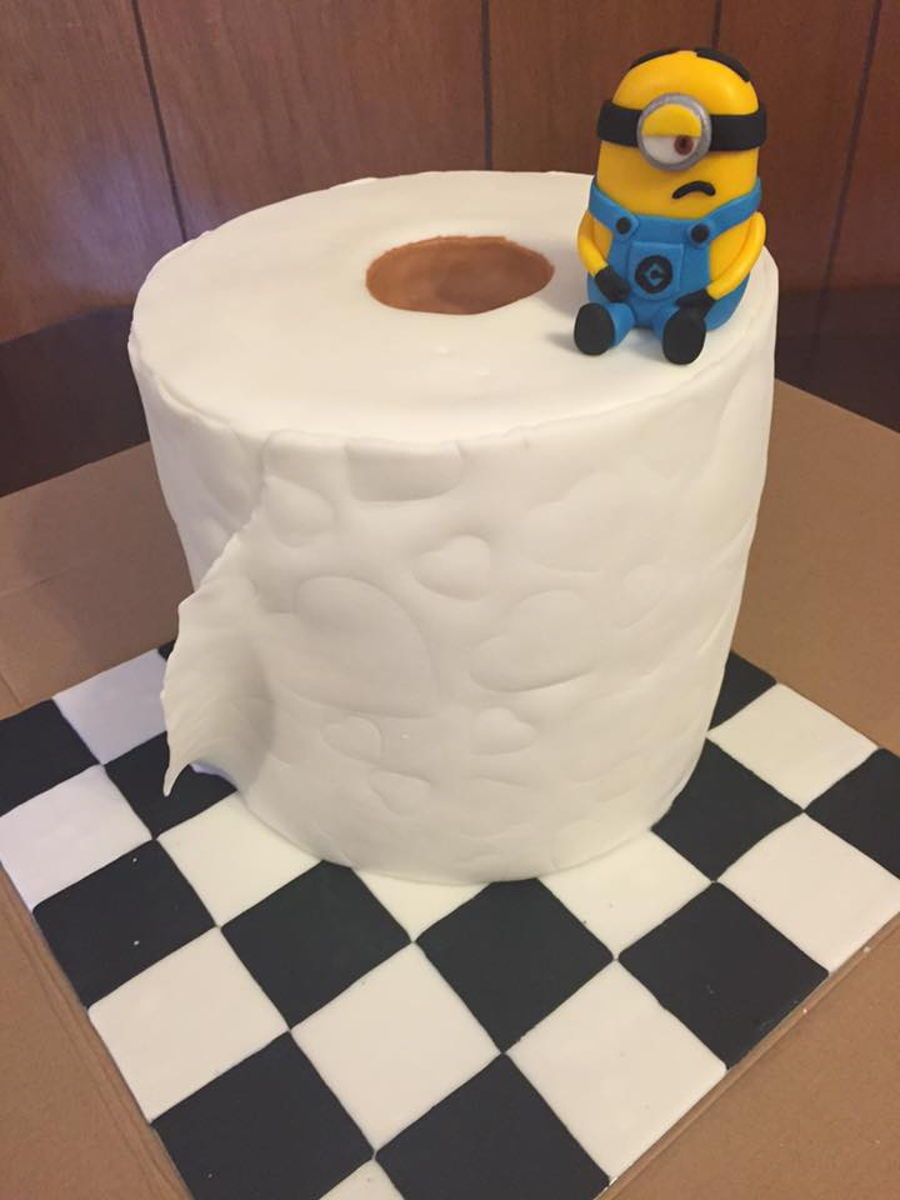 Toilet Paper Roll Cake Cakecentral Com