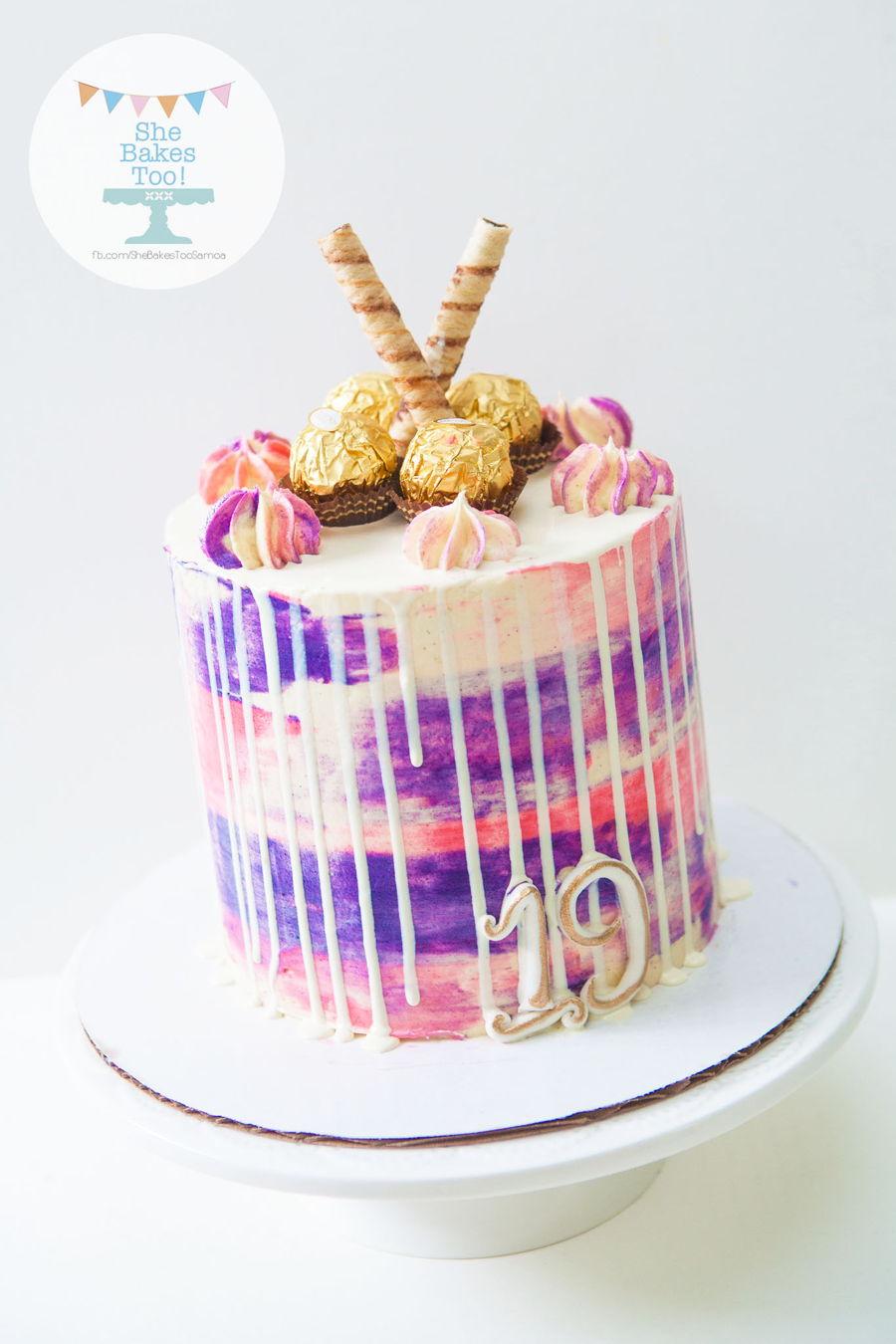 Watercolor Buttercream Cakecentral Com