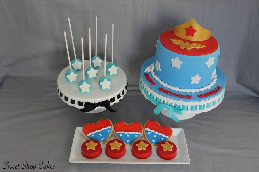 Wonder Woman Birthday Cakecentral Com
