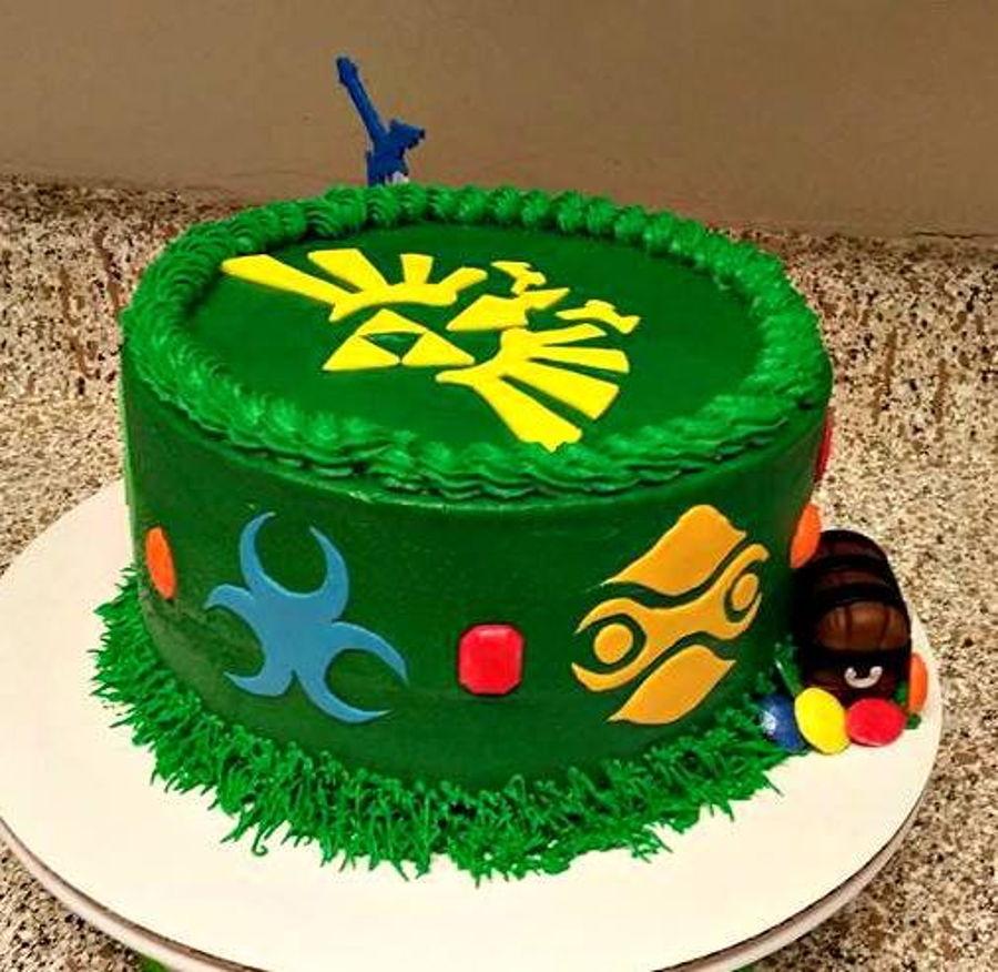 Zelda Birthday Cake - CakeCentral.com