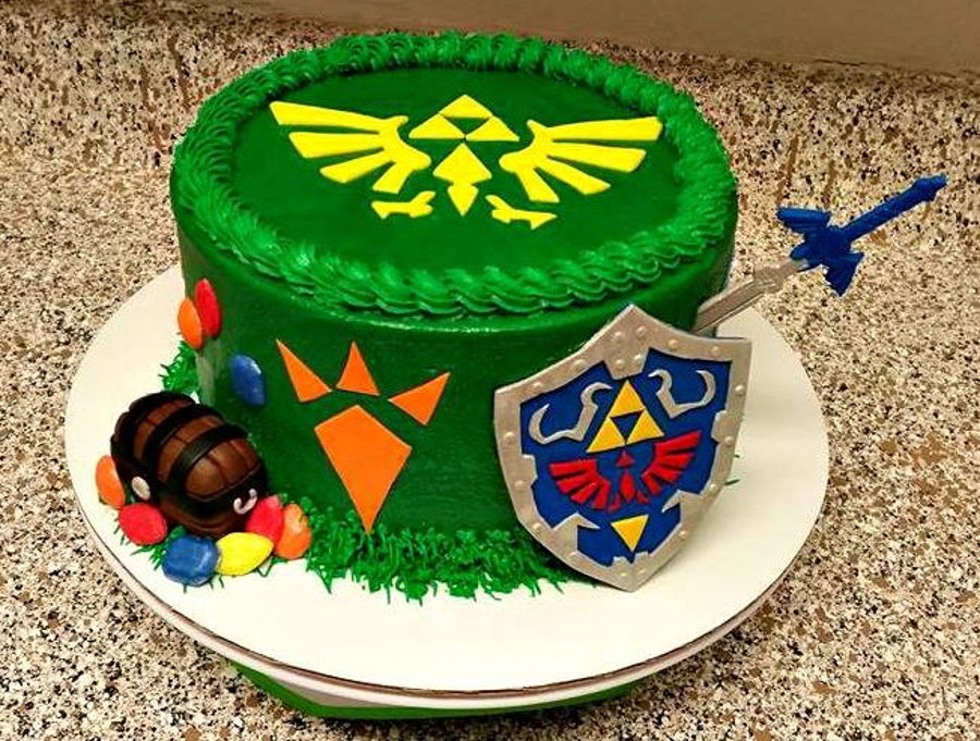 zelda birthday cake