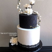 Bold - Black And White Wedding Cake Bold - Black and White Wedding cake