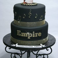 Empire Last week, I had the pleasure of making this cake for my friend's husband, Tobias Truvillion, who was recently added to the cast of...