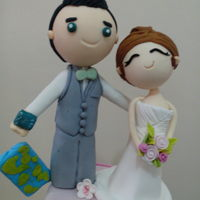 Gumaste Couple Topper Bride and groom