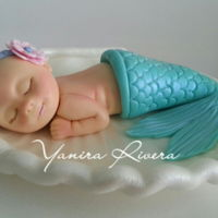 Gumpaste Figure baby in gumpaste no molds!