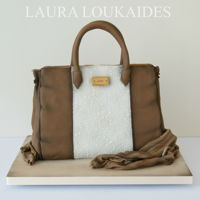 Handbag Cake Brown Handbag Cake - I hope you like it! :)