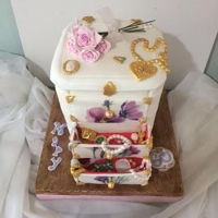 Jewerly jewerly box cake