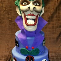 Joker Cake all edible