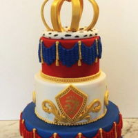 Kings Day Cake this cake was for kings day which is a national holiday here in the Netherlands