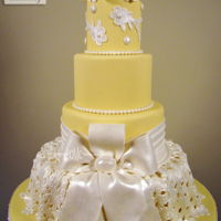 Lace And Bows This cake is in the newest issue of Cake Central Magazine. This month's magazinehas stunning cake photos and tutorials. For the...