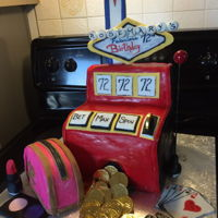 Las Vegas Slot Machine Cake For those crazy gamblers