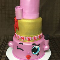 Lippy Lips Cake all edible