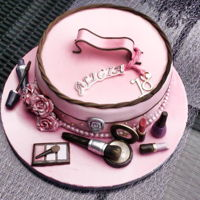 Makeup Cake Make up cake