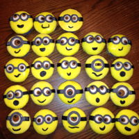Minions These were fun and easy, but a little time consuming because I am soooo slow!