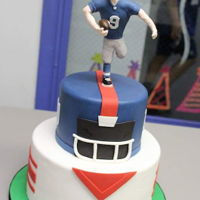 Ny Giants Football Player Cake NY Giants Football player cake
