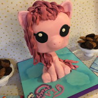 Pinky Pie My daughters 5th birthday. 2 foot tall pinky pie