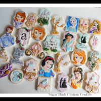 Princess Themed Royal Icing Cookies My latest project!