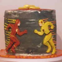 The Flash V's Reverse Flash For my son who is obsessed with The Flash TV show.