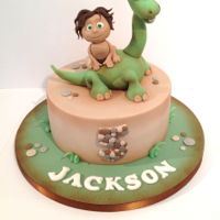 The Good Dinosaur   The Good Dinosaur cake made by Bezmerelda