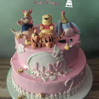 Winnie The Pooh For Lily Two year old Lily is fan of everything Winnie the pooh and she knows all the characters by name. So when it came to her birthday cake, he...