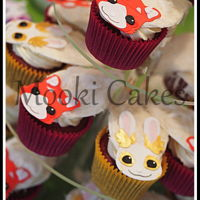 Zelf Cupcakes My daughter wanted a Zelf-themed birthday party this year and so I went with her two favourite Zelfs - Ooma (a red panda) and Angelhop (a...