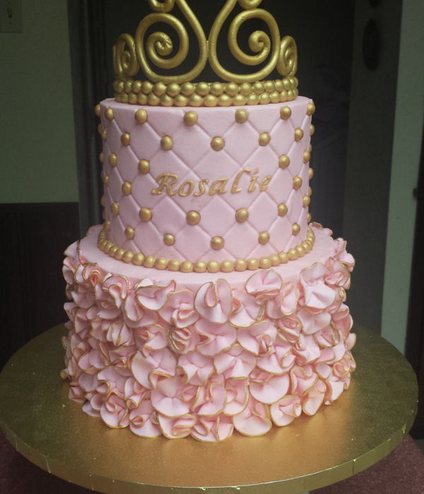 Little Princess Baby Shower Cake