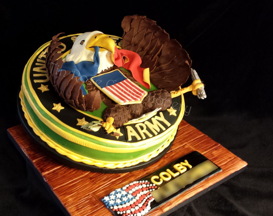 Army Seal Birthday Cake Cakecentral Com