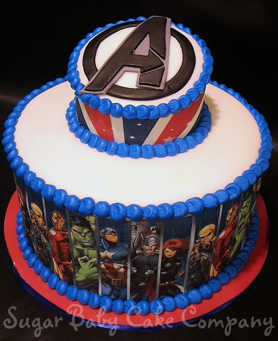 Avengers Birthday Cake Recipes Image Inspiration of Cake and