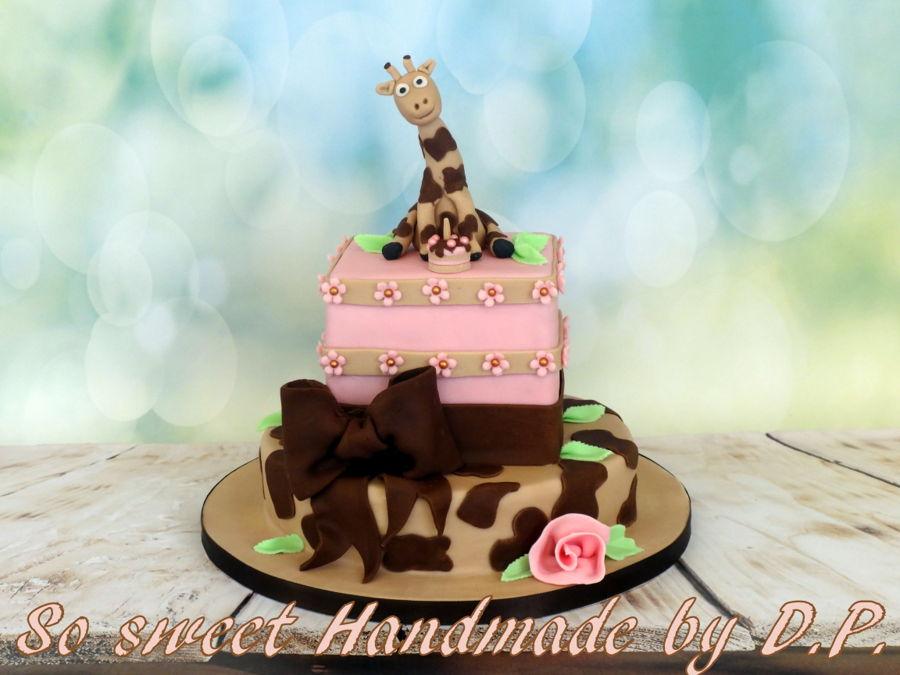 Baby Giraffe Cake Cakecentral
