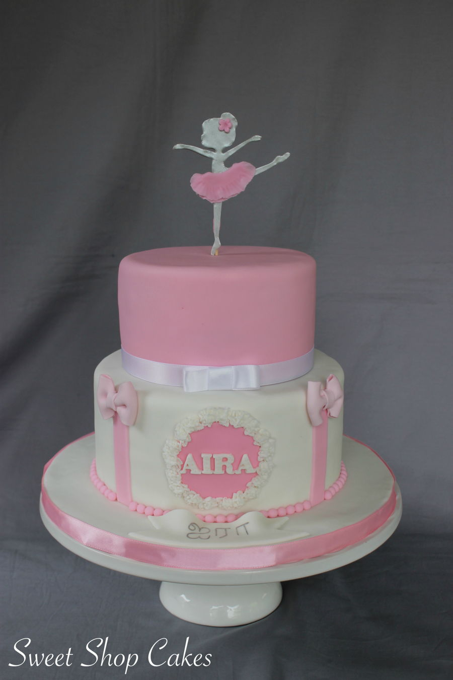 Fantastic Ballerina Birthday Cake Cakecentral Com Personalised Birthday Cards Paralily Jamesorg